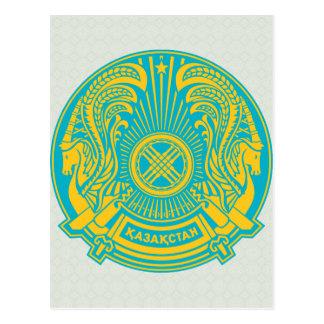 Detalle del escudo de armas de Kazajistán Tarjetas Postales