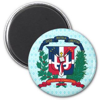 Detalle del escudo de armas de la República Domini Imán Para Frigorífico