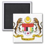 Detalle del escudo de armas de Malasia Imanes Para Frigoríficos