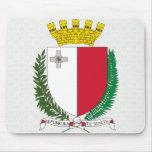 Detalle del escudo de armas de Malta Alfombrillas De Ratón