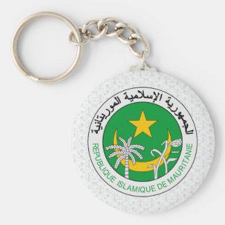 Detalle del escudo de armas de Mauritania Llavero Personalizado