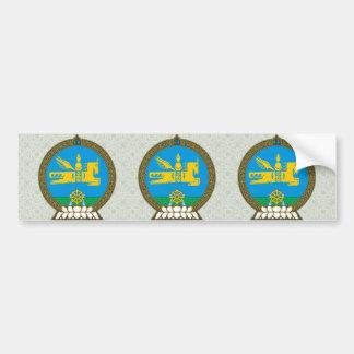 Detalle del escudo de armas de Mongolia Pegatina Para Auto
