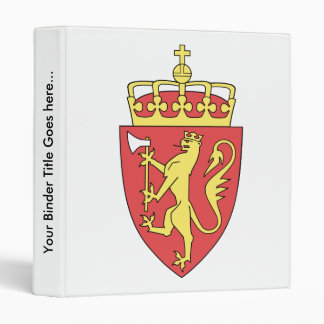 Detalle del escudo de armas de Noruega
