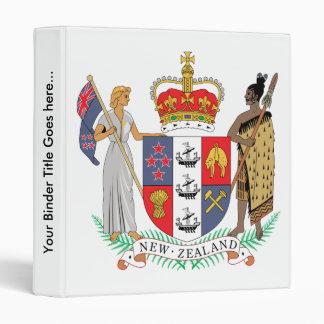 Detalle del escudo de armas de Nueva Zelanda