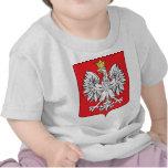 Detalle del escudo de armas de Polonia Camiseta
