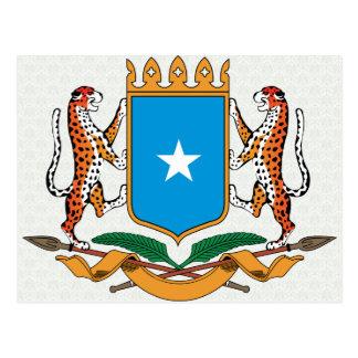 Detalle del escudo de armas de Somalia Tarjetas Postales