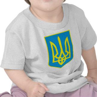 Detalle del escudo de armas de Ucrania Camisetas