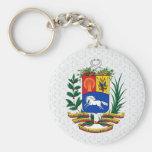 Detalle del escudo de armas de Venezuela Llavero
