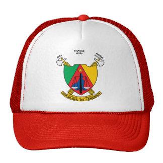 Detalle del escudo de armas del Camerún Gorra