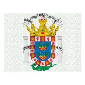 Detalle del escudo de armas del De Melilla del esc Tarjetas Postales