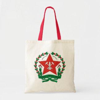 Detalle del escudo de armas del Minas Gerais del B Bolsa Lienzo