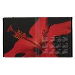 Detalle del hibisco; Calendario 2013