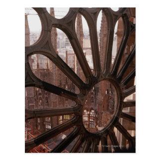 Detalle del La Sagrada Familia, Barcelona, España Tarjeta Postal