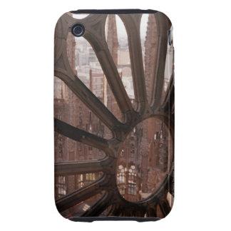 Detalle del La Sagrada Familia, Barcelona, España Tough iPhone 3 Cárcasa