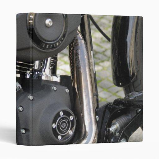 Detalle del motor del cromo de la motocicleta