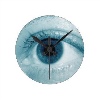 Detalle del ojo relojes