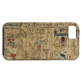 Detalle del papiro de Nespakashuty, nuevo Kingd iPhone 5 Cárcasas