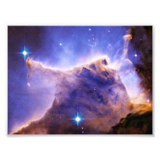 Detalle del pilar de la nebulosa de Eagle (Hubble) Fotografía