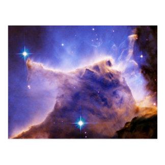 Detalle del pilar de la nebulosa de Eagle Hubble Tarjeta Postal