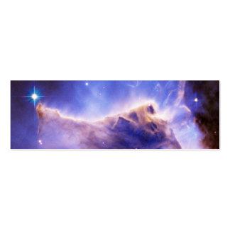 Detalle del pilar de la nebulosa de Eagle (Hubble) Tarjetas De Visita Mini