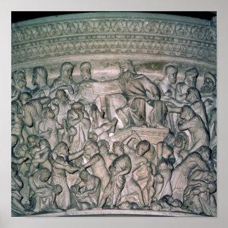 Detalle del púlpito, 1302-10 impresiones