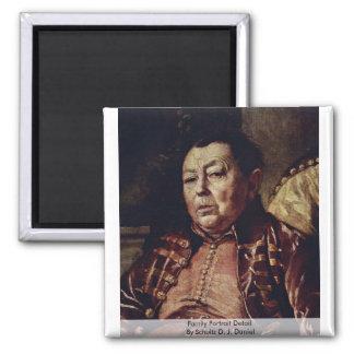 Detalle del retrato de la familia de Schultz D.J.  Iman De Frigorífico
