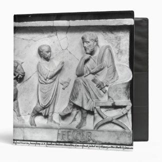 """Detalle del sarcófago de Cornelio Carpeta 1 1/2"""""""