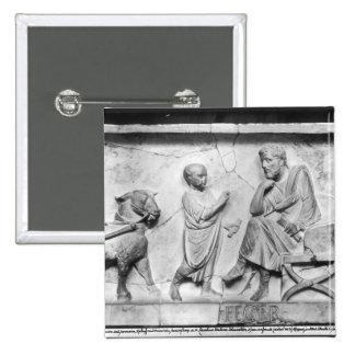 Detalle del sarcófago de Cornelio Pins