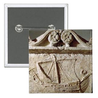 Detalle del sarcófago de la nave, de Sidon Pin