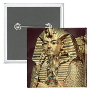 Detalle del segundo ataúd del mummiform pins
