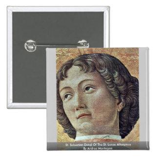 Detalle del St. Sebastian del Altarpiece del St. L Pins