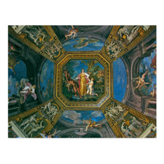 Detalle del techo de la capilla de Sistine Postal