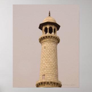 Detalle el Taj Mahal Agra Uttar Pradesh la Ind Impresiones