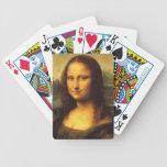 Detalle principal de Mona Lisa - Leonardo da Vinci Baraja Cartas De Poker