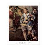 Detalle veneciano del festival (Fêtes Vénitienne) Tarjeta Postal