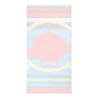 Detalles coloridos tarjetas fotograficas personalizadas