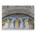 Detalles de la catedral de Berlín Postal