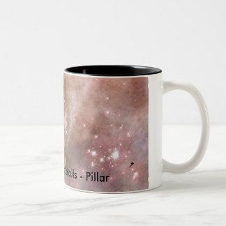 Detalles de la nebulosa de Carina - pilar Taza De Dos Tonos