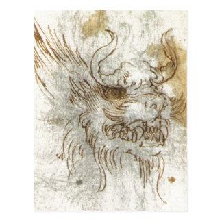Detalles de un estudio de un traje 1517 1518 del d tarjetas postales