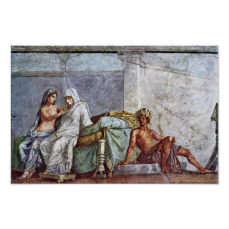 Detalles del boda de Aldobrandini: Aphrodite de la Impresiones