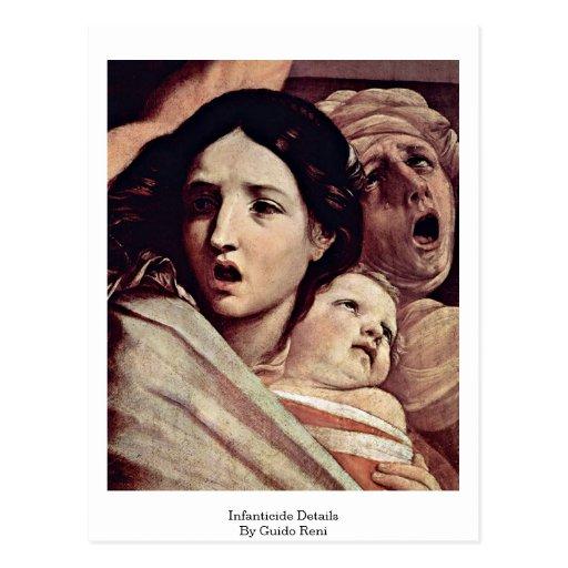 Detalles del infanticidio de Guido Reni Tarjetas Postales