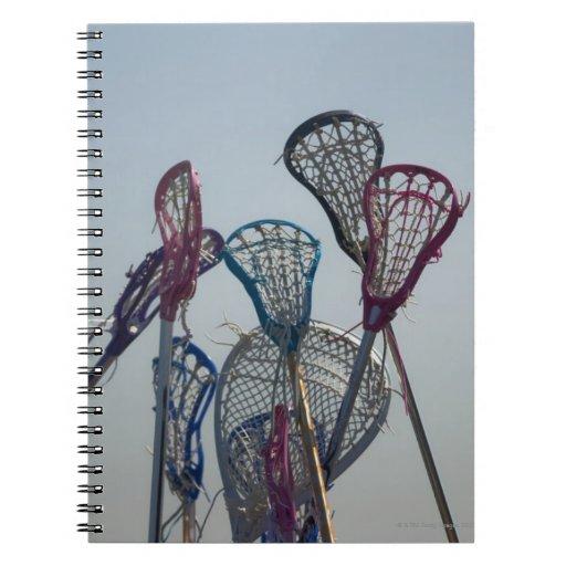 Detalles del juego de LaCrosse Libro De Apuntes
