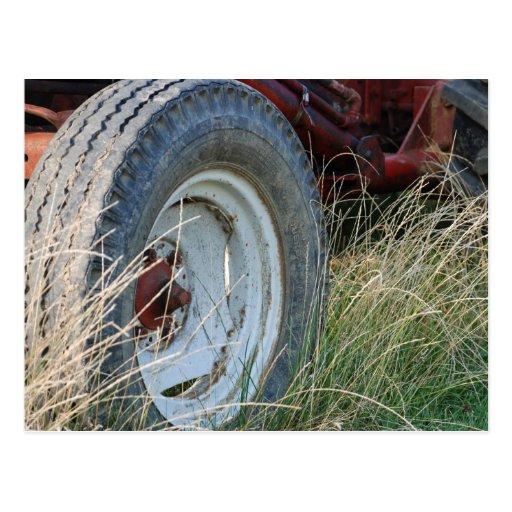 detalles del tractor postales