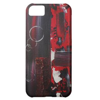 Detalles en el caso del iPhone 5 de la tela Carcasa iPhone 5C