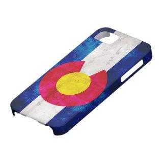 D'état du Colorado de Drapeau Funda Para iPhone 5 Barely There