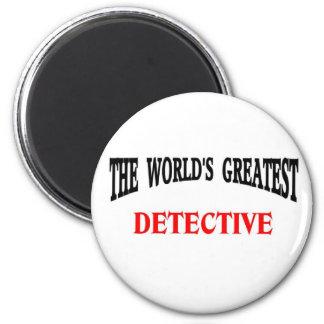 Detective 2 Inch Round Magnet