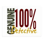 Detective auténtico postales
