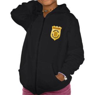 Detective Badge Girls Hoodie