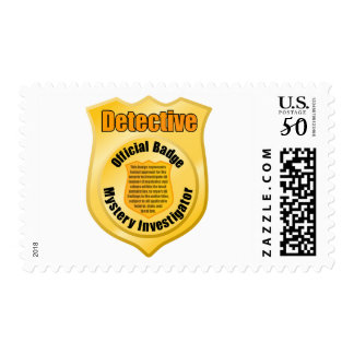 Detective Badge Postage