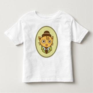 Detective Cat Toddler T-shirt